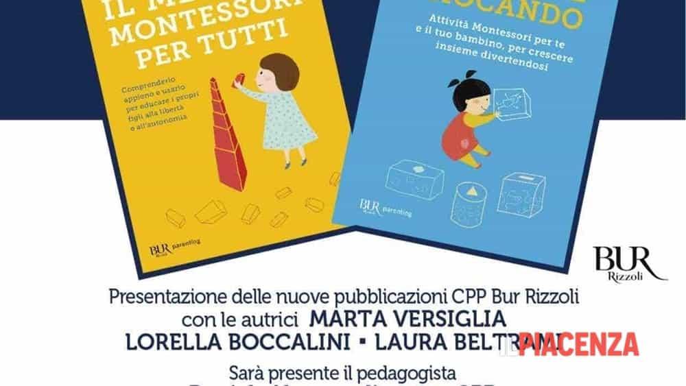 Centro psicopedagogico presentazione dei nuovi libri sul - Porta libri montessori ...