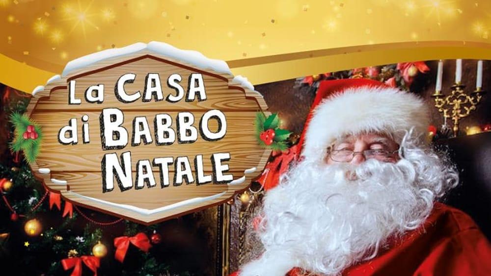 Parco Di Babbo Natale.A Piacenza Expo La Casa Di Babbo Natale