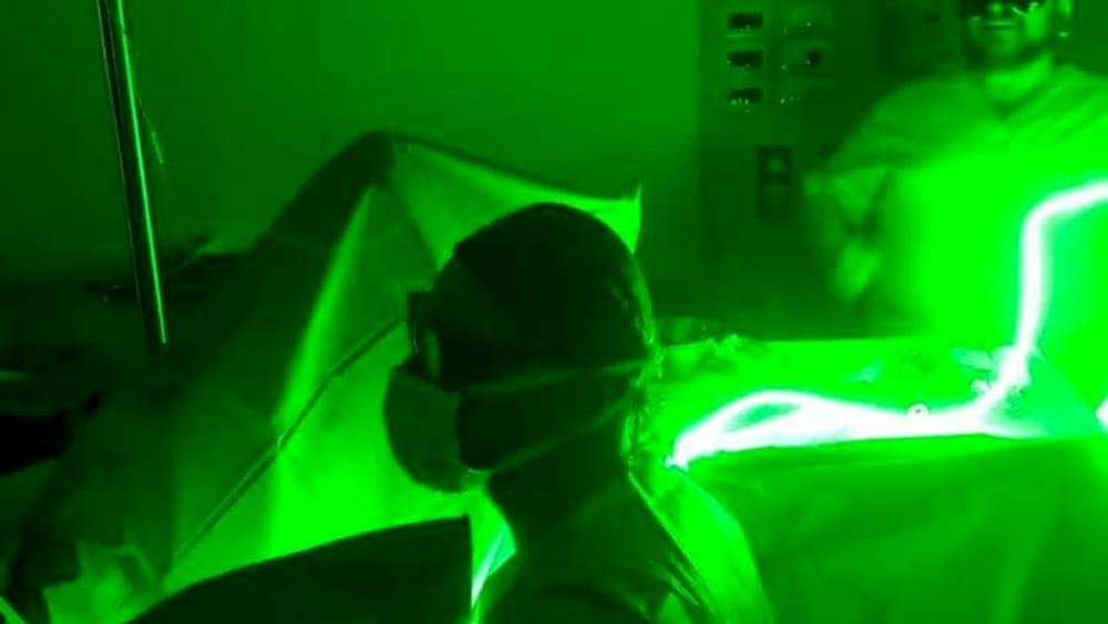 video intervento svuotamento della prostata