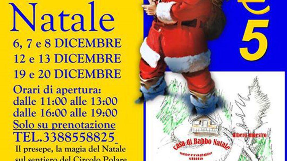 Babbo Natale 8 Gallery.Ferriere La Casa Di Babbo Natale
