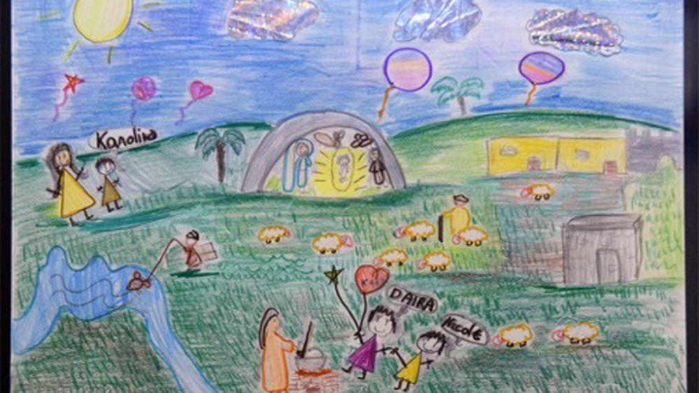 Disegna il tuo presepe la scuola taverna vince la prima for Disegna il tuo giardino